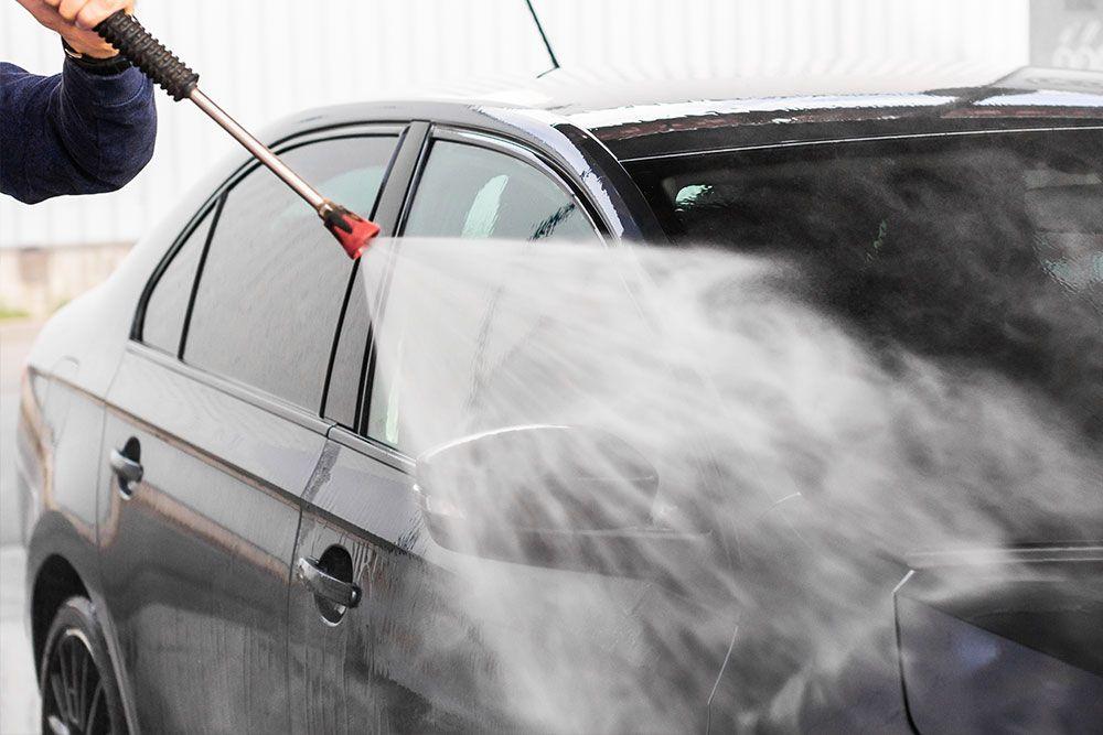 Limpieza de coches en talleres