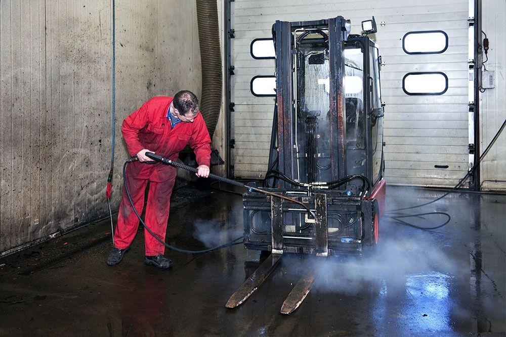 Limpieza de maquinaria